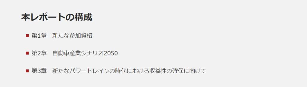 自動車産業シナリオ2050 ライフサイクル・カーボンニュートラル 日本の自動車産業の存続に向けて